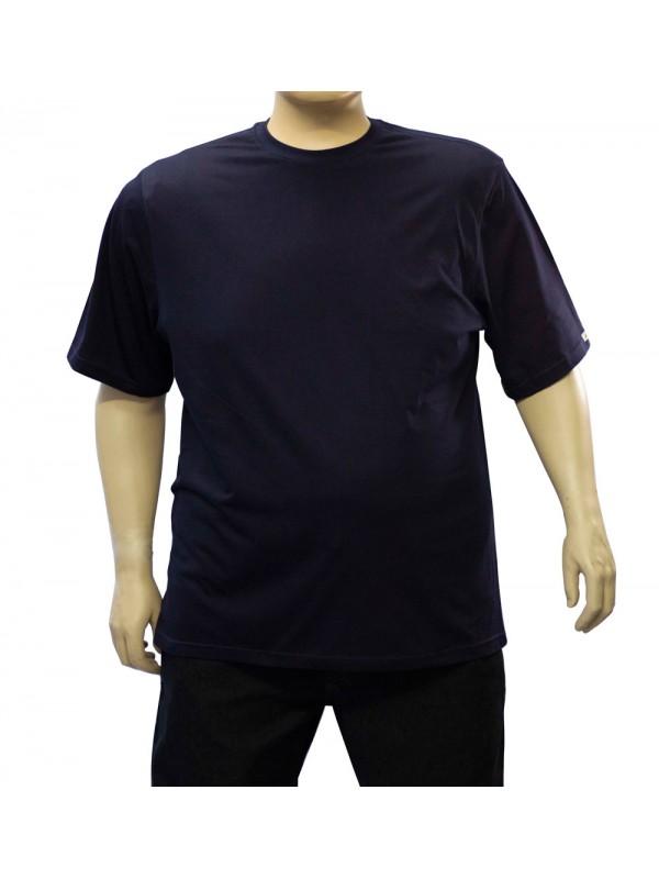Camiseta Básica Plus Size Marinho