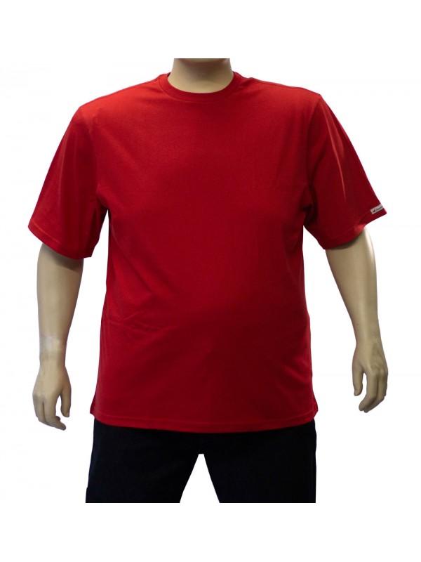 Camiseta Básica Plus Size Vermelha